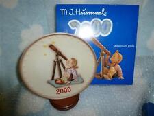 "Hummel Annual Plate  2000  ""STAR GAZER""  Millennium Edition  MIB"