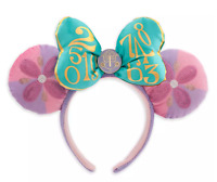 Disney Minnie Mouse The Main Attraction It's a Small World Ear Headband Ears New