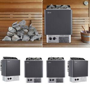 Electric Sauna Heater 3-9kw Sauna Stove Dry Sauna Control Panel Stones Optional
