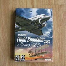 microsoft flight simulator a century of flights 2004 PC