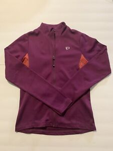 PEARL IZUMI SELECT CYCLING FLEECE LINED JERSEY WOMAN'S SMALL BACK POCKET NWOT