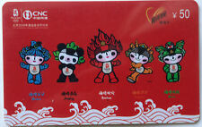 China Used Phone Reload Cards - 1 pc 2008 Olympic Mascots