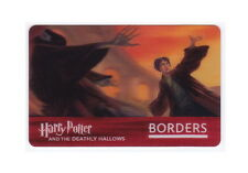 Harry Potter Collectible / 2007 Lenticular Gift Card / Deathly Hallows