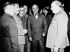 ART PRINT POSTER VINTAGE PHOTO WAR WWII STALIN CHURCHILL TRUMAN POTSDAM NOFL0476