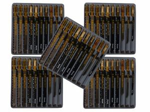 50x Stichsägeblätter T-Schaft für Bosch PROFI Stichsägeblatt Set Holz PVC Metall