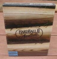 "New Factory Sealed Hardball II 2 Accolade 3.5"" DOS IBM & Compatibles Game"