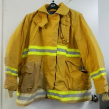 FYREPEL Firefighter Turnout Gear Bunker Padded Jacket Yellow Size X-LARGE #8