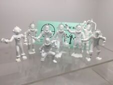 Marx Robot & Spacemen, Tom Corbett, Space Cadets Reissue, About 70mm Tall