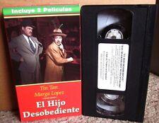 HIJO DESOBEDIENTE Germán Valdes HAY MUERTOS QUE NO HACEN RUIDO drama 1945 VHS