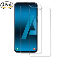 For Samsung Galaxy A50 Full Coverage Tempered Glass Screen Protector Clear 2 Pk