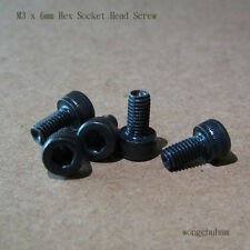 M3 x 6mm Hex Socket Head Screw - 50 pcs