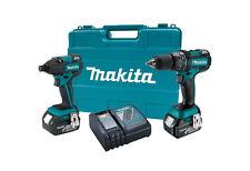 """Makita LXT 18V Li-Ion Brushless 1/2"""" Hammer Drill Impact Combo Kit XT248 Refurb"""