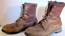 Vintage UFCW boots brown leather size 11 1/2 Men 11.5 work boots UNION Boots