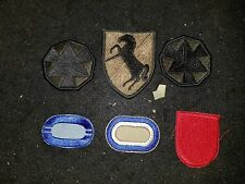 Collector Lot of various US Military patches