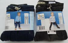 2 Kinder Jeans Thermojeans Jungen Thermo Hosen Gr.110 1 x Blau  1 x Schwarz NEU