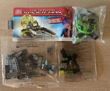 Mega Blocks SPIDER MAN 91338 The Amazing Lizard Sewer Speeder No Box