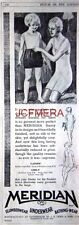 'MERIDIAN' Bathing & Underwear; Original 1932 Advert - Vintage Art Deco Print AD