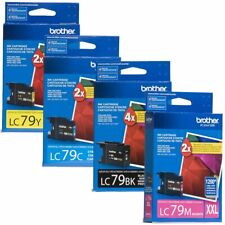 4PK GENUINE Brother LC79 Ink for MFC-J5910DW MFC-J6510DW MFC-J6710DW MFC-J6910DW