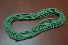 10 METER GREEN WAX COTTON BEADING CORD STRING 2MM #T-2763D