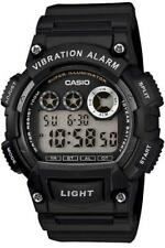 Casio Vibration Alarm Watch Black W-735H-1AVEF