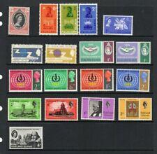 QEII FALKLAND ISLANDS PRE DECIMAL 1960s SETS x 8 LMM see scan