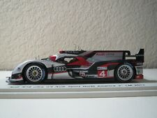 1:43 SCALE SPARK 2012 AUDI R18 ULTRA #4 AUDI SPORT N, AMERICA RESIN 3RD LE MANS