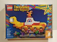 LEGO 21306 The Beatles Yellow Submarine NEW MISB EC Box FAST FREE SHIPPING !