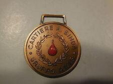 medaglia gruppo donatori di sangue AVIS gruppo Binda
