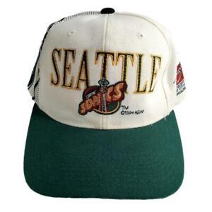 Sports Specialties Seattle SuperSonics Snapback Hat Vintage Baseball Cap NBA