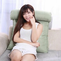 Adjustable Back Wedge Cushion Support Pillow Sofa Bed Chair Cushion Office