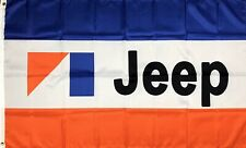 New listing Jeep Logo Flag 3x5 ft Banner Cj5 Cj7 Amc Cherokee Wagoneer J10 J20 Renegade New