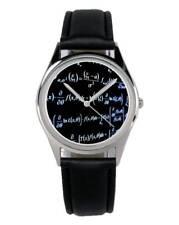 Mathe Mathematik Geschenk Fan Artikel Zubehör Fanartikel Uhr B-1970