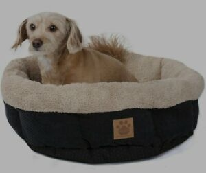 Pet Bed for small dogs Precision snoozzy mod chic Round Shearling