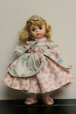 """Vintage Madame Alexander """"Mary Mary"""" Dress Storyland Coll.? 7.5"""" *Missing Arms*"""