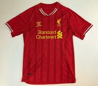 Liverpool Football Club L.F.C. Warrior Red Home Team Soccer Jersey Men's Small