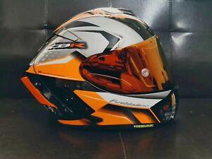 X14 X-Spirit 3 Motorcycle Full Face Helmet DOT CBR Orange Marquez Moto GP Helmet