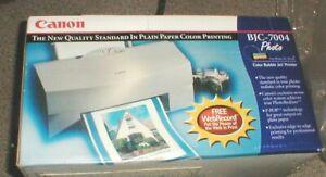 NEW Canon BJC-7004 Photo Color Bubble Jet Printer in Original Box SEALED
