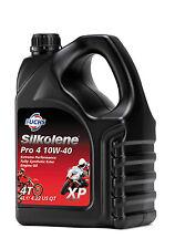 4 LITRES SILKOLENE PRO 4 XP 100% FULLY SYNTHETIC 10W 40 10/40 4 STROKE OIL