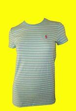 RALPH LAUREN SPORT T-SHIRT/ LONGSHIRT für Damen! Stripe Blue! NEU! GR. S