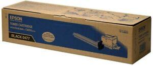 Genuine Epson 0477 Black Toner Cartridge Aculaser C9200 Series C13S050477