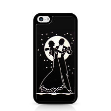 Moonlight Couple Dance Under Moon And Stars Black Phone Case