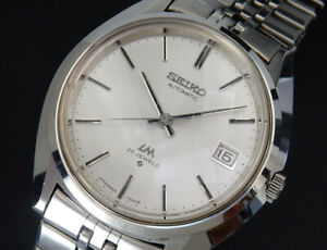 Serviced Seiko Lord Matic FullOriginal 1971 Vintage Automatic Winding Mens Watch