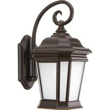 Nuvo 60//561 Signature 1 Light Architectural Bronze Outdoor Wall Lantern