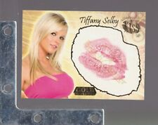 2007 Benchwarmer GOLD EDITION #22 Tiffany Selby AUTHENTIC KISS CARD PLAYBOY