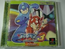 PS1 Rockman 3 Megaman Japan PS PlayStation 1 F/S