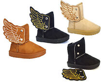 WHOLESALE LOT Boys/Girls Boots Casual Flying High Styllish Wing 36 Pairs -2033