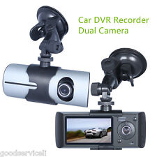 "Full Hd 1080P Dash Cam 2.7"" LCD Screen Dual Camera 5MP with GPS Logger OEM"