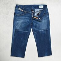 Womens DIESEL Matic Jeans Size W30 L32 Slim Fit Tapered Leg Stretch Wash 008SV