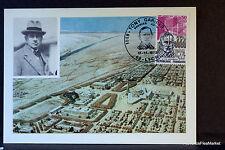TONY GARNIER  1973 CARTE MAXIMUM FRANCE Premier Jour 1° FDC Yt 1769c