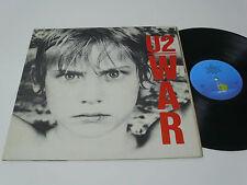 U2 War - PORTUGAL LP -  DACAPO 3rd release - LATER PRESSING (1986)